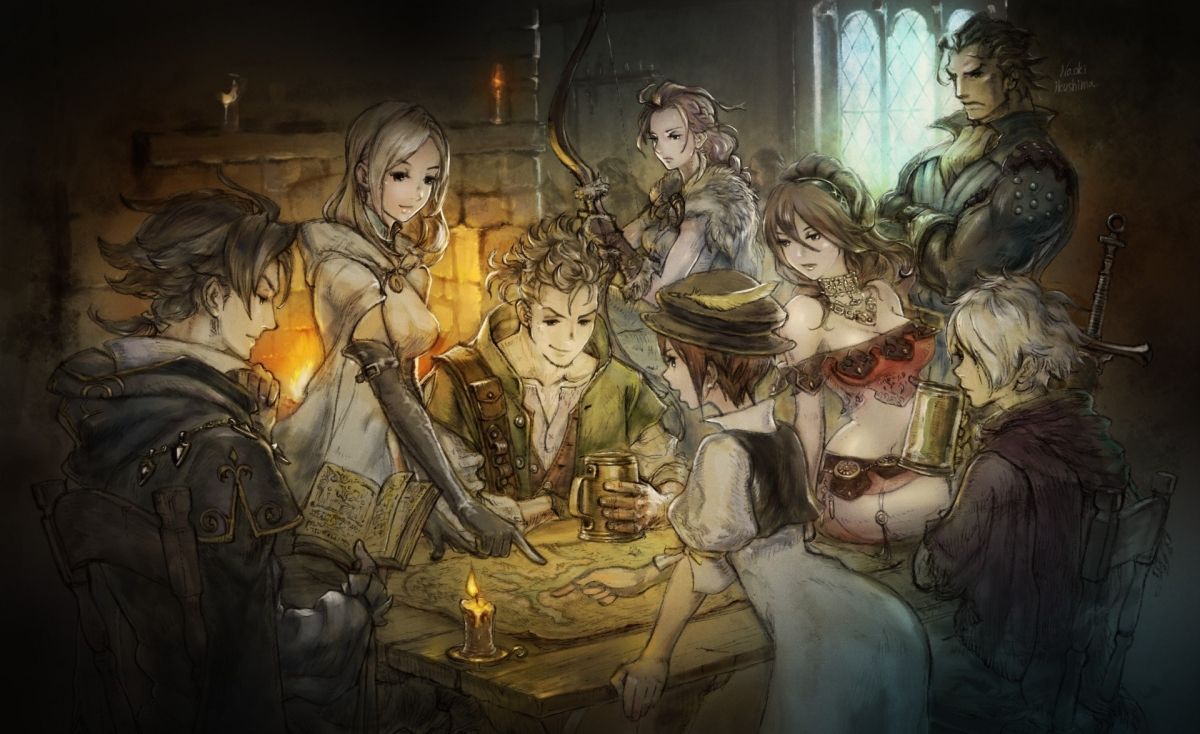 [Review] Octopath Traveler - Ein ungeschliffener Diamant